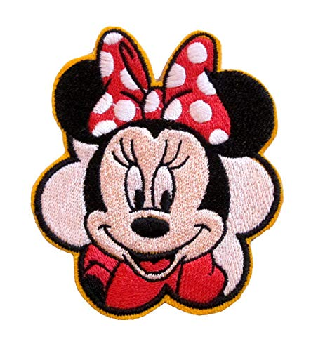 Classic Minnie Mouse Dipsy Daisy Cartoon Inspired Iron on Patch