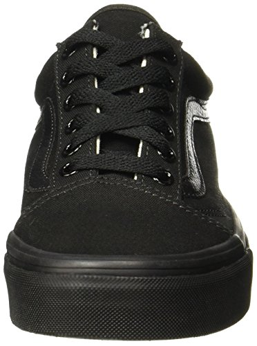 Zapatillas Nero U Black Unisex Skool Schwarz Black Negro Old Vans Adulto CTtqf