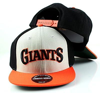 MLB American Needle Scripteez Cooperstown Wool Adjustable Snapback Hat (San Francisco Giants)
