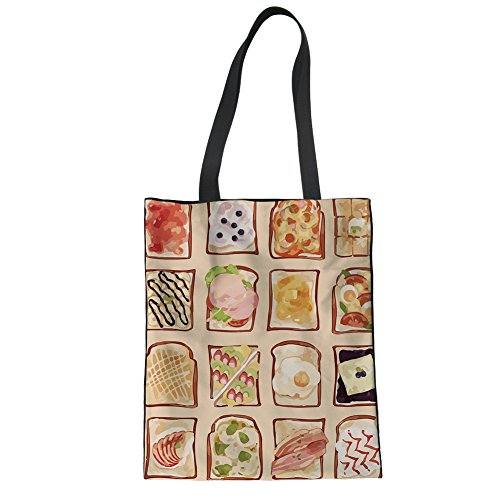 Tote Tote Casual Summer Women Tote 4 Advocator Bags Canvas Work Color School Bag Beach Bag Shopping txzgSqOwf
