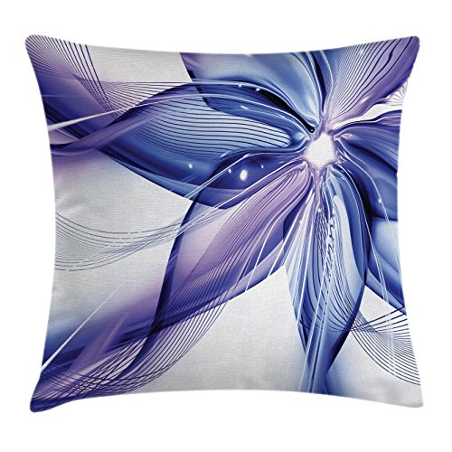 Abstract Decor Throw Pillow Cushion Cover by Ambesonne,