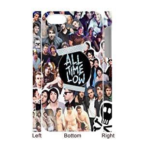 All Time Low High Qulity Customized 3D Cell Phone Case for iPhone 4,4S, All Time Low iPhone 4,4S 3D Cover Case