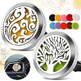 Amazon.com: Essential Oil Diffuser Necklace {Silver Tree