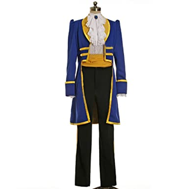 Cuterole Men Adult Beast Costume Beauty and Beast Prince Adam Cosplay Outfit Custom  sc 1 st  Amazon.com & Amazon.com: Cuterole Men Adult Beast Costume Beauty and Beast Prince ...
