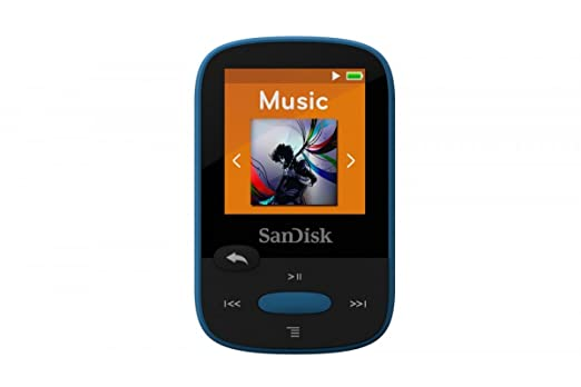 327 opinioni per SanDisk Sansa Clip Sport Lettore MP3 8 GB, Blu