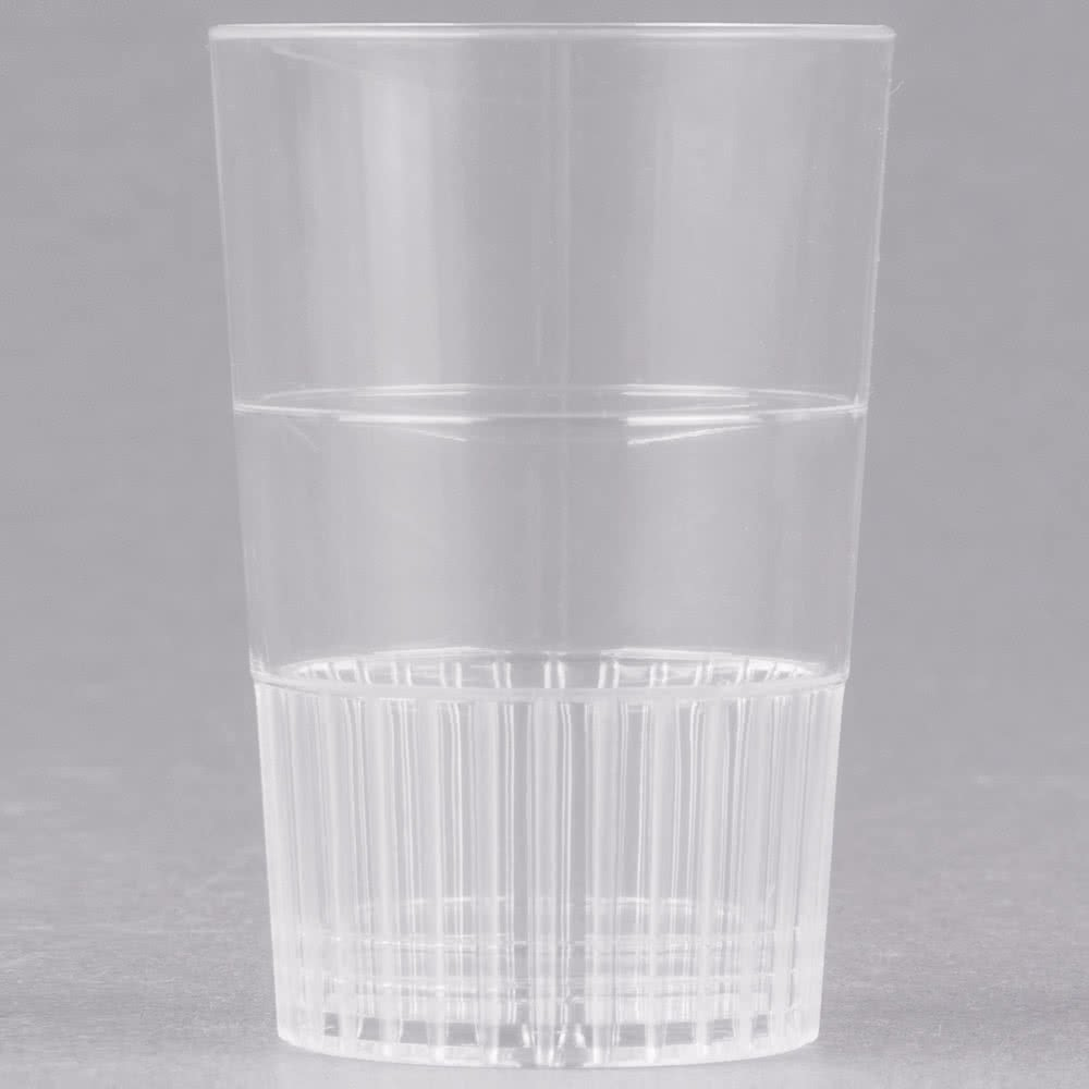 Fineline Quenchers 4115-CL 1.5 oz. Clear Hard Plastic Shooter Glass - 500/Case by Fine-line