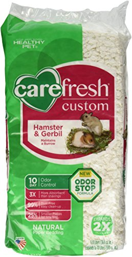 CareFresh Custom Hamster & Gerbil Bedding – White – 10 lt