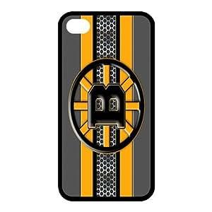 Custom Boston Bruins Back Cover Case for iphone 4,4S JN4S-684
