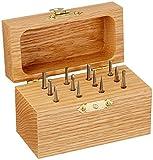 SGS Tool Company 18200 Bur Set 1 Carbide Bur 1/8 Diameter 1/8 Shank Diameter