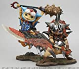 Game Characters Collection DX Monster Hunter Portable 3rd Otomo Airou Ashiraneko Series PVC Figure by Megahouse