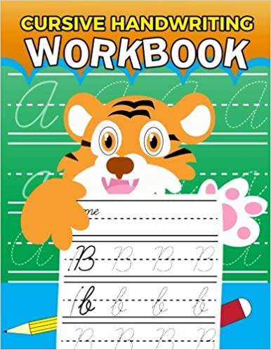 Learn Cursive Handwriting Workbook: Complete Cursive Writing ...