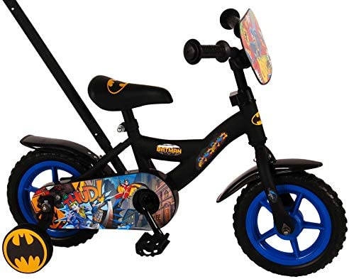 Volare Bicicleta Infantil Niño 10 Pulgadas Batman Conducción ...