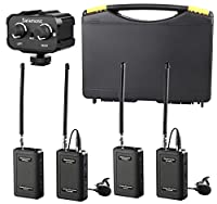 Saramonic Wireless VHF Lavalier Microphone Bundle