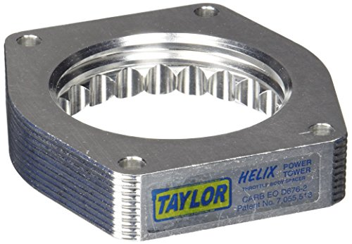 Helix Throttle Body Spacer - Taylor Cable 53020 Helix Power Tower Plus Throttle Body Spacer