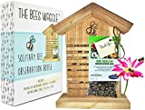 Mason Bee House - Crack'n Special $25 Off - Viewing Window, Wildflower...