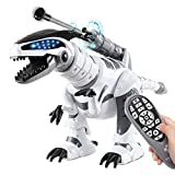 Fistone RC Robot Dinosaur Intelligent Interactive Smart Toy Electronic Remote Controller Robot Walking Dancing Singing with Fight Mode Toys for Kids Boys Girls Age 5 6 7 8 9 10 and Up Year Old