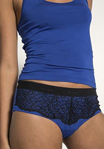 hessnatur Damen-Wäsche Damen Panty aus Modal Indigo 1Kdeum