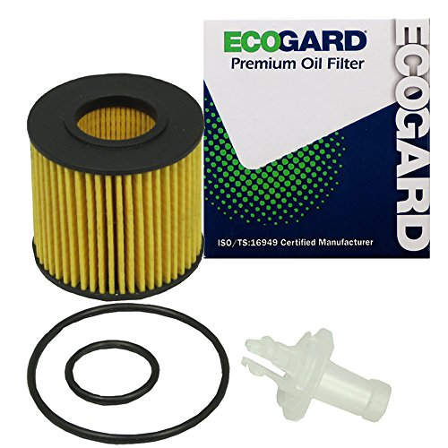 ECOGARD X6160 Cartridge Engine Oil Filter for Conventional Oil - Premium Replacement Fits Scion iQ