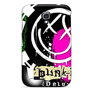 Samsung Galaxy S4 XFg3341lfEf Support Personal Customs Lifelike Blink 182 Band Pattern Shock-Absorbing Hard Phone Covers -AaronBlanchette