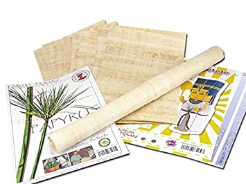 Papyrus Blatter 10 Blatt Blanko Natur Papyrus 30x20cm Aus Agypten