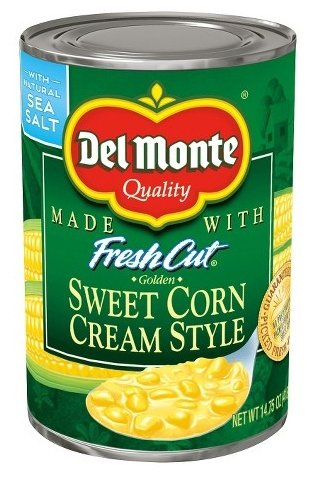 Del Monte Fresh Cut Cream Style Sweet Corn 14.75 oz. (Pack of 4) (Corn Cream Sweet Style)