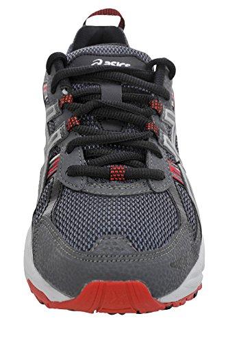 Castle Gel 5 Zapatos Asics Bajos Para Red Medios amp; Talla Cordon venture silver Rock Hombres fiery Tenis 5t81q7