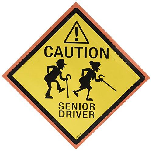 """Senior Driver"" Car Magnet, Party Favor"
