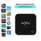 YCCTEAM® Rooted MXIII-G Android TV Box Amlogic S812 Quad Core 2GB/16GB Octa Core 4K HEVC H.265 Ultra HD Streaming Media Player,Dual Wifi, Bluetooth 4.0 with Kodi 16.0 Fully Loaded(2016 New Arrival)