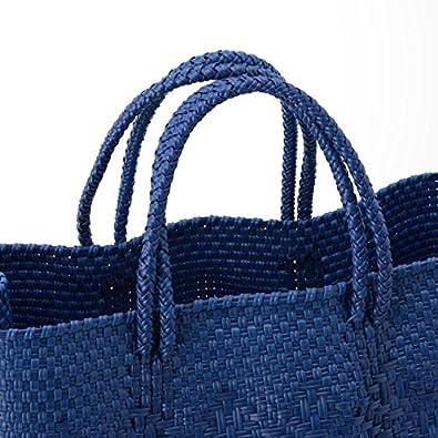 d62af702af83 Amazon | ビショップ(Bshop) □【PI-PROJECT(ピー アイ プロジェクト)】メキシコ メルカドバッグ【BLUE/ONE】 |  Bshop(ビショップ) | レディースバッグ・財布