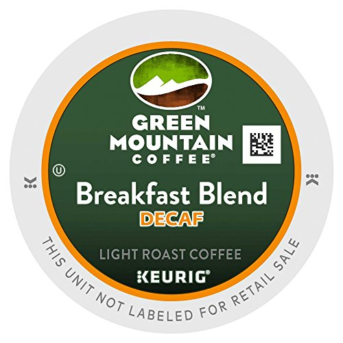 Green Mountain Coffee Decaf Breakfast Blend, K-Cup Portion Pack for Keurig K-Cup Brewers (Pack of 48) (Breakfast Mountain Green Decaf)