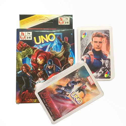 AKINGSHOP Marvel Avengers UNO Card - Game Uno Blast