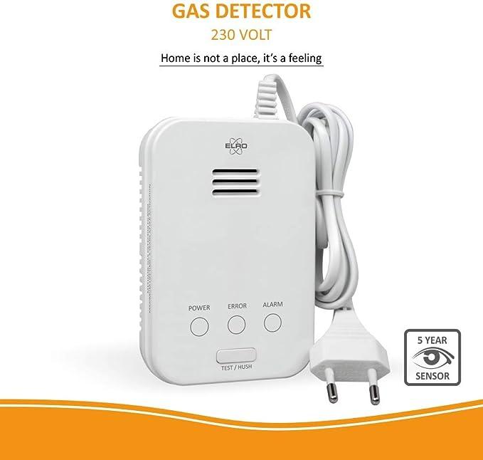 Elro FG4000P Gas Detector, White