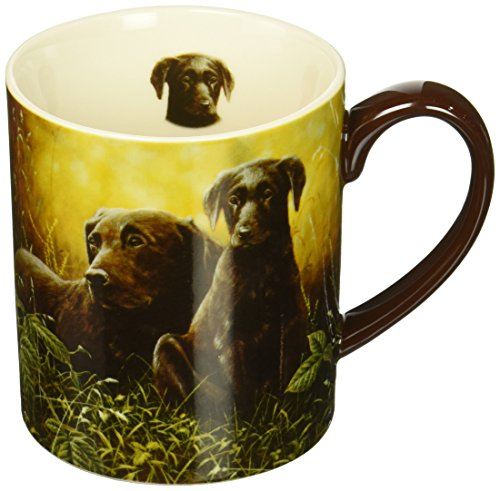 - Lang Sunset Labs Mug by John Silver, 14 oz, Multicolored
