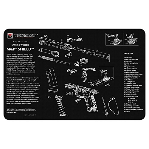 TekMat for use with Smith & Wesson M&P Shield