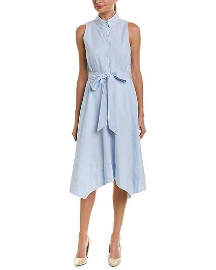 Tahari By Arthur S Levine Women S Seersucker Dress At Amazon