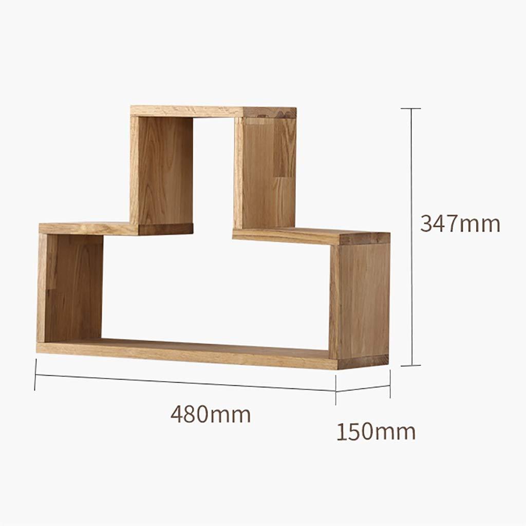 CDラック 壁掛け棚テレビリビングルーム木製ディスプレイスタンド仕切り本棚吊りフレーム多機能収納ラック (Color : A3) B07S3653SV A3