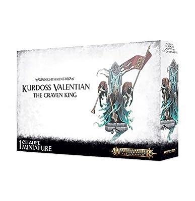 Nighthaunt Kurdoss Valentian The Craven King Warhammer Age of Sigmar from Games Workshop