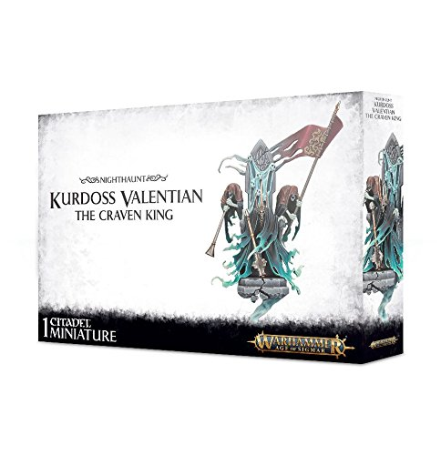 Nighthaunt Kurdoss Valentian The Craven King Warhammer Age of Sigmar by Citadel