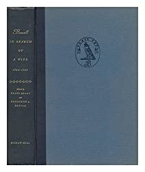 Boswell, In Search of a Wife 1766-1769