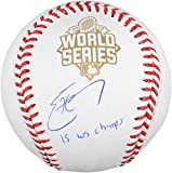 Eric Hosmer Kansas City Royals 2015 MLB World Series Champions Autographed World Series Baseball with 15 WS Champs Inscription - Fanatics Authentic Certified