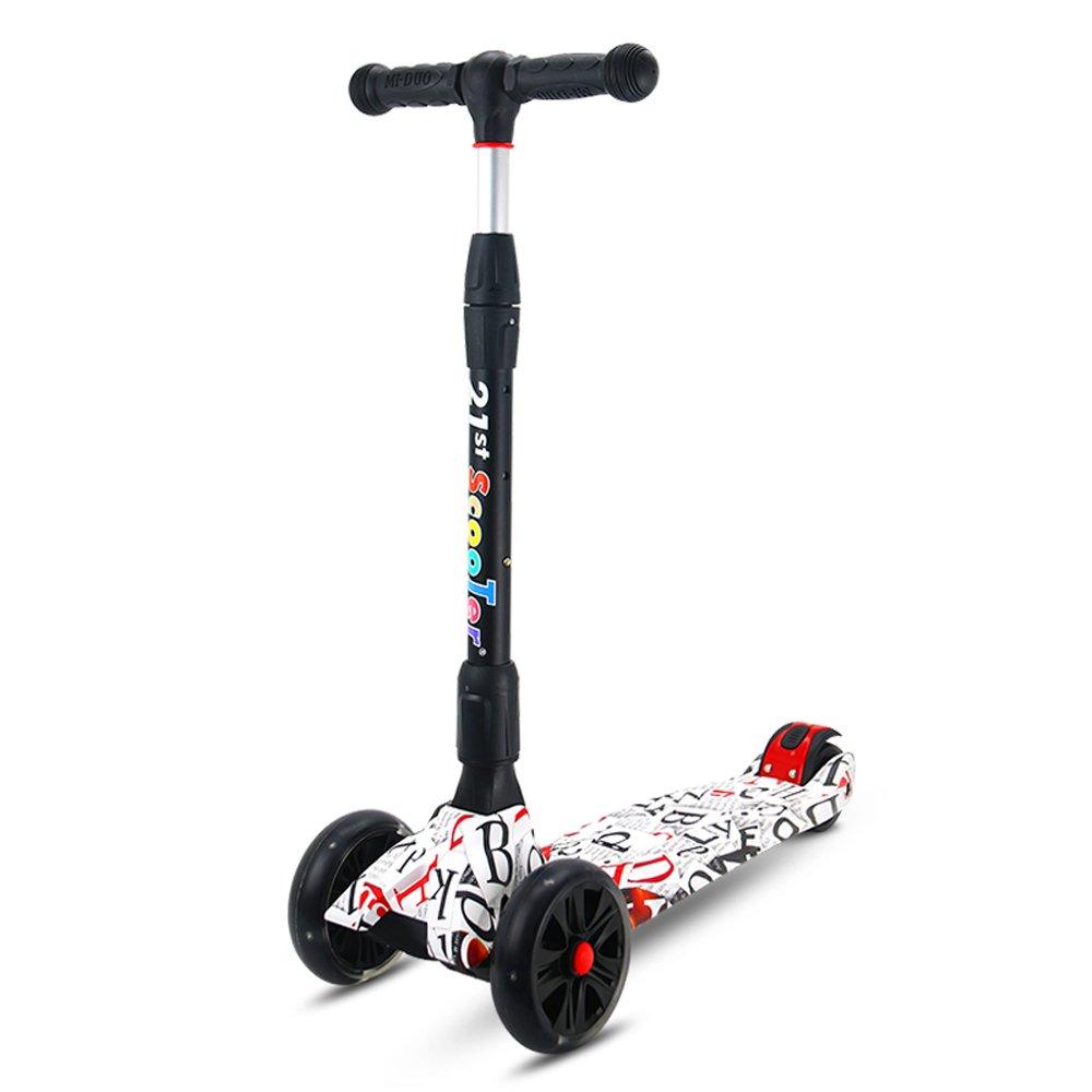 Rishx Scooter for niños Altura Ajustable Plegable rápido ...