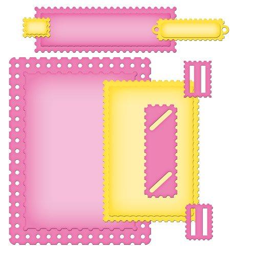 作りましたネスタビリ ティー A2 カード作成者金型空想切手 B008E4CNMM