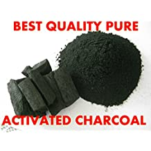 PREMIUM ACTIVATED COCONUT CHARCOAL POWDER Fine Food Grade, Teeth Whitening 500g (50g)