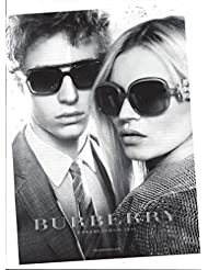 fc0c693698 PRINT AD With Kate Moss For 2007 Burberry Sunglasses OriginalPRINT AD