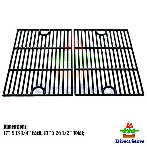Porcelain Cooking Grid (Direct store Parts DC104 Porcelain Cast Iron Cooking grid Replacement Kenmore,Uniflame,K-Mart,Nexgrill,Uberhaus Gas Grill)