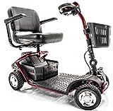 Golden Technologies - LiteRider - Lightweight Travel Scooter - 4-Wheel - Red