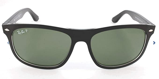 RAY-BAN Rb4226 Gafas de sol, Top Matte Black on Transparent, 56 para Hombre