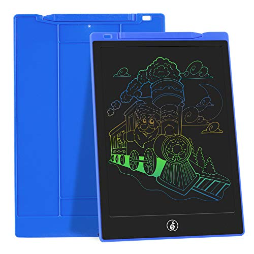 JefDiee Kids Drawing Boards Writing Tablet, 10 Inch Colorful Screen Electronic Learning and Education Drawing Pads…