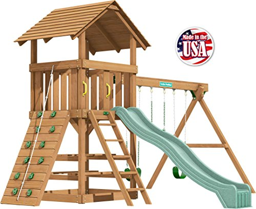 Creative Playthings (Classic Series) Clayton Pack 3 Swing Set Made in The USA