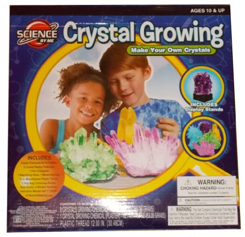 Amazon Grow Your Own Crystals Crystal Growing Kit Toys Games